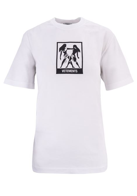 T-shirt Vetements Vetements | 8 | UAH19TR303WHITEGEMI