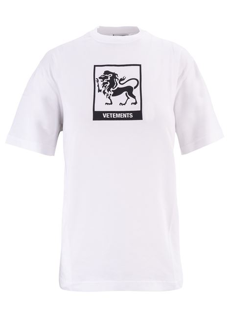 T-shirt Vetements Vetements | 8 | UAH19TR303WHITELEO