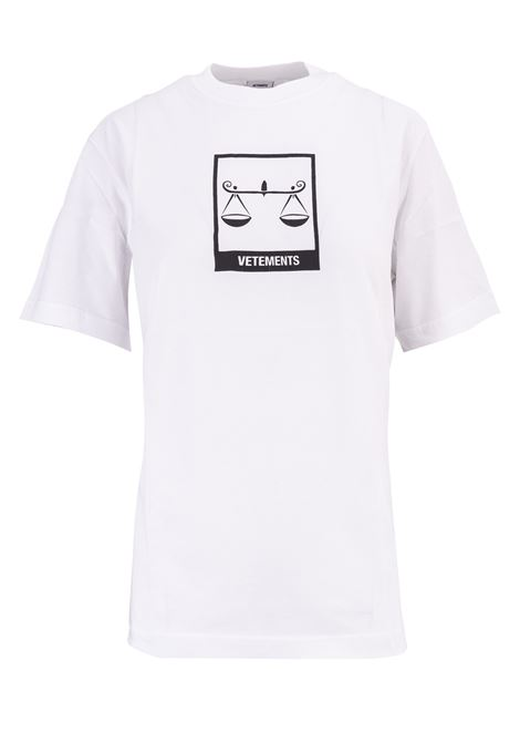 T-shirt Vetements Vetements | 8 | UAH19TR303WHITELIBR