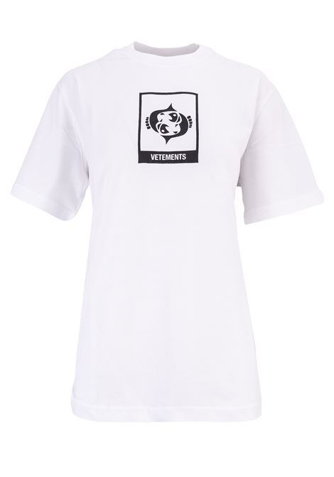 T-shirt Vetements Vetements | 8 | UAH19TR303WHITEPISC
