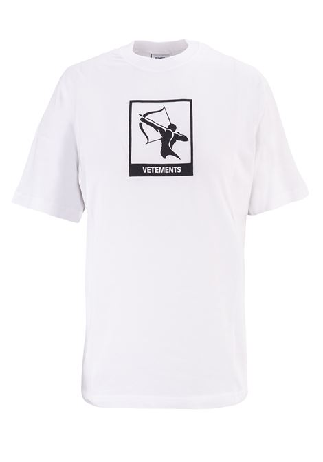 T-shirt Vetements Vetements | 8 | UAH19TR303WHITESAGI