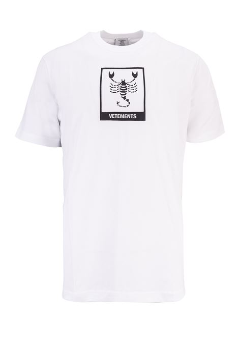T-shirt Vetements Vetements | 8 | UAH19TR303WHITESCO