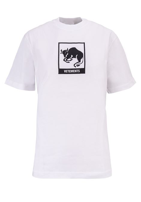 T-shirt Vetements Vetements | 8 | UAH19TR303WHITETAU