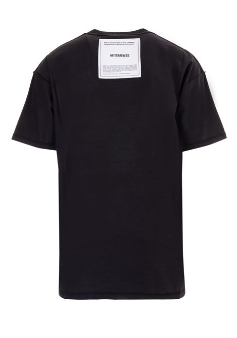 T-shirt Vetements Vetements | 8 | UAH19TR305BLACK
