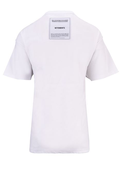 T-shirt Vetements Vetements | 8 | UAH19TR305WHITE