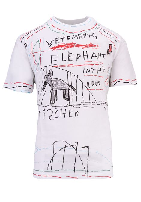 T-shirt Vetements Vetements | 8 | UAH19TR309WHITE