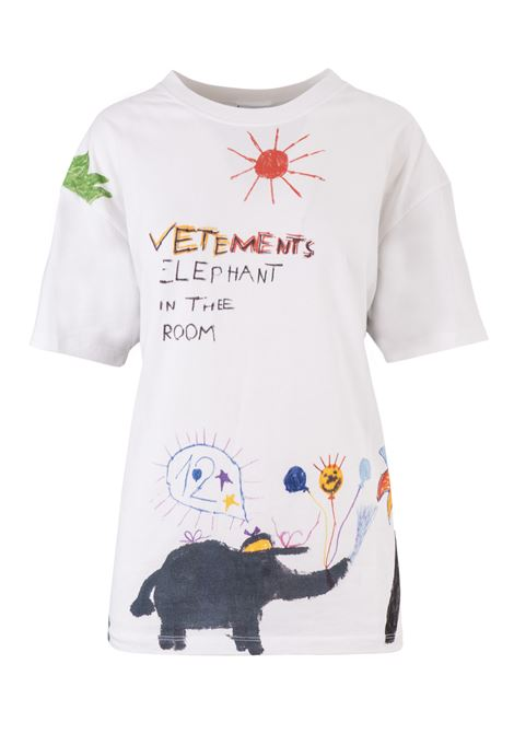 T-shirt Vetements Vetements | 8 | UAH19TR310WHITE