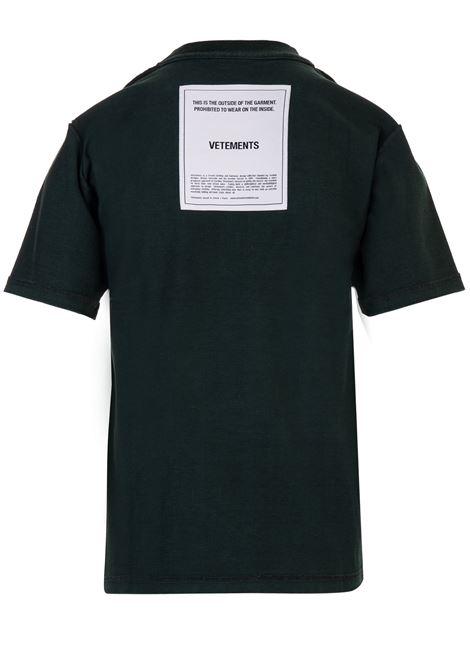 Vetements t-shirt Vetements   8   WAH19TR101DARK