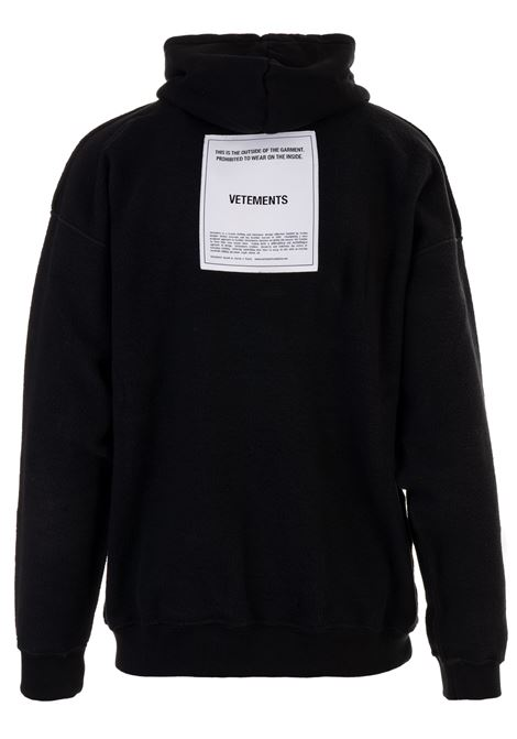 Felpa Vetements Vetements | -108764232 | WAH19TR107BLACK