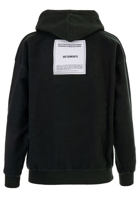 Felpa Vetements Vetements | -108764232 | WAH19TR107DARK