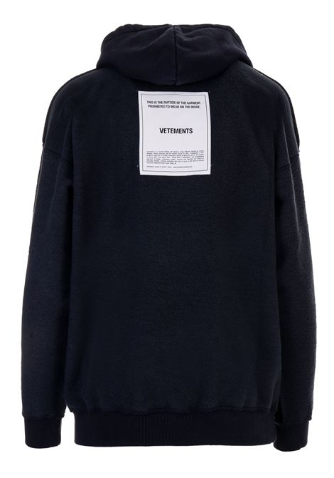 Felpa Vetements Vetements | -108764232 | WAH19TR107NAVY