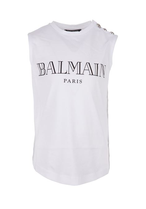 Canotta Balmain Paris Kids BALMAIN PARIS KIDS | -1740351587 | 6K8532KX080100NE