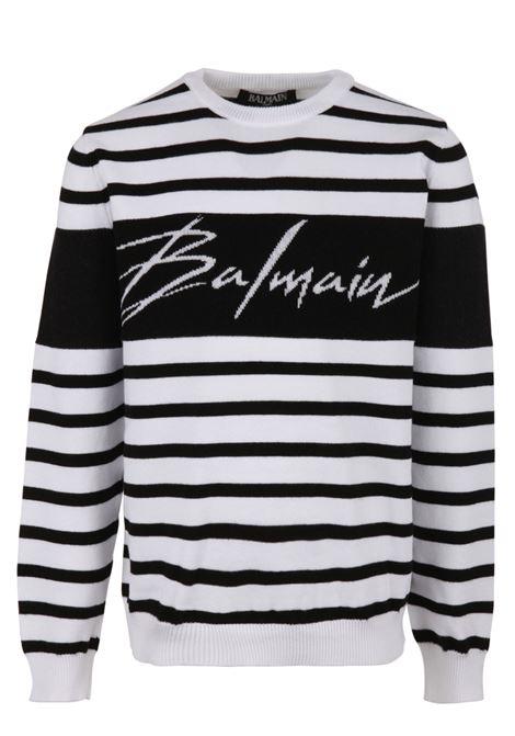 Balmain Paris Kids sweatshirt BALMAIN PARIS KIDS | -108764232 | 6K9520KC630930BC