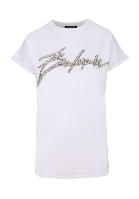 Balmain Paris t-shirt BALMAIN PARIS | 8 | RF11953P001GAC