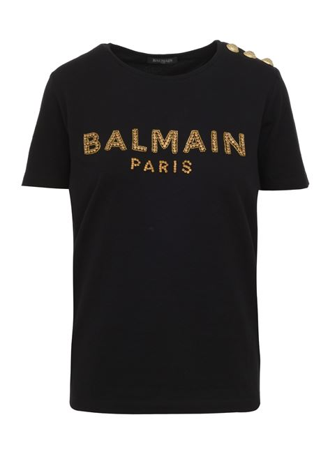 Balmain Paris T-shirt  BALMAIN PARIS | 8 | SF11190P018EAD
