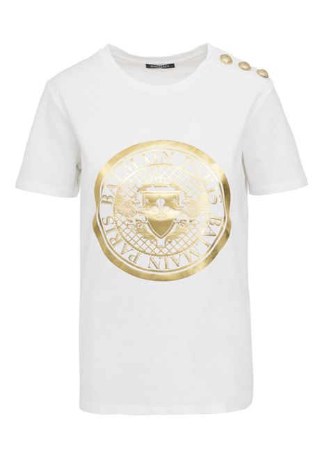 Balmain Paris T-shirt  BALMAIN PARIS | 8 | SF11364I195GAD
