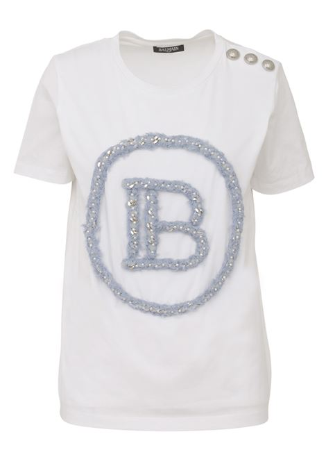 Balmain Paris t-shirt BALMAIN PARIS | 8 | SF21159P021SAL