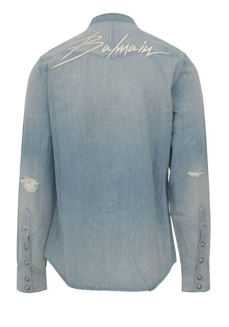 Camicia Balmain Paris BALMAIN PARIS | -1043906350 | SH12400Z1996AA