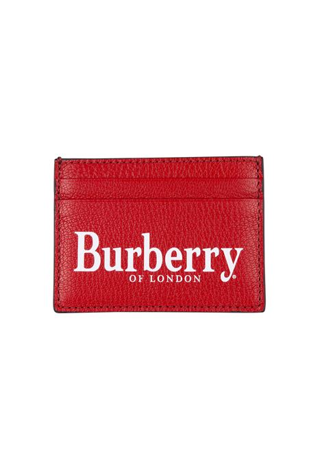 Burberry card holder BURBERRY | 633217857 | 8005983REDBLACK