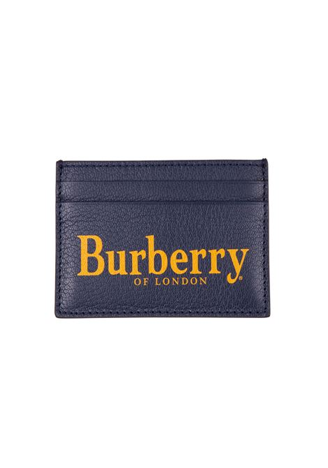 Porta carte Burberry BURBERRY | 633217857 | 8005984BLUE