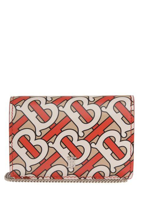 Porta carte Burberry BURBERRY | 633217857 | 8012770VERMILLION