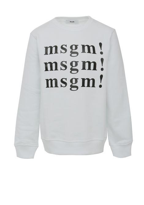 Felpa MSGM Kids MSGM KIDS | -108764232 | 020244001