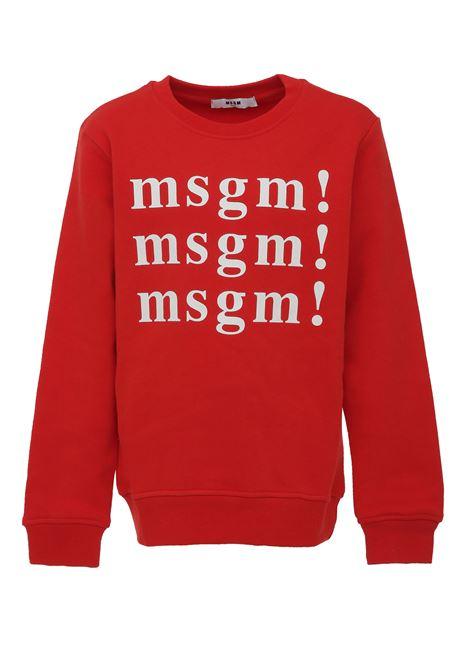 Felpa MSGM  Kids MSGM KIDS | -108764232 | 020244040
