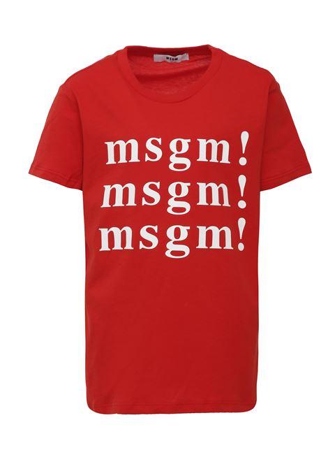 T-shirt MSGM Kids MSGM KIDS | 8 | 020245040