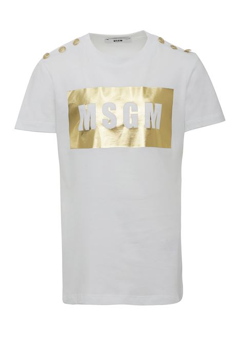 T-shirt MSGMS Kids MSGM KIDS | 8 | 020681001