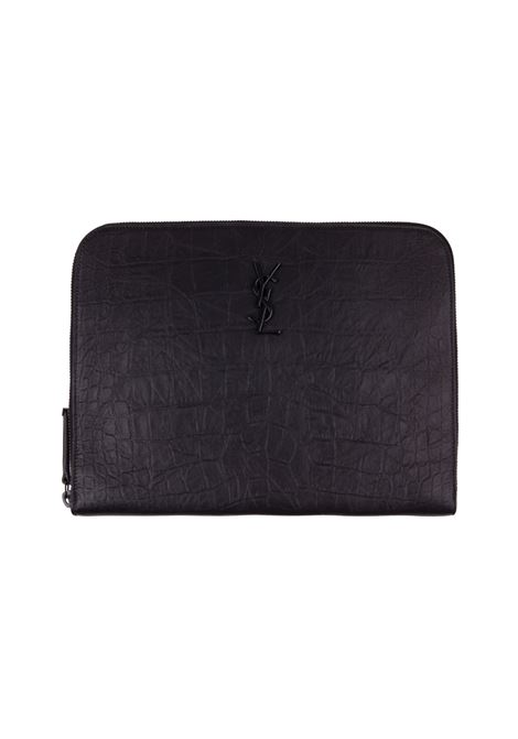 Saint Laurent tablet case Saint Laurent | 77132862 | 529862C9H0U1000