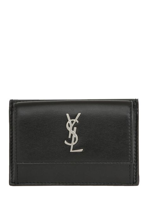 Monogram card case Saint Laurent  Saint Laurent | 633217857 | 5563910SX0E1000