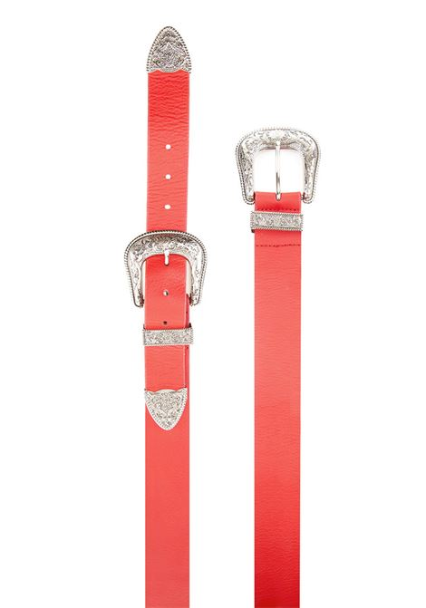 B-Low the Belt belt B-low the belt | 1218053011 | BT071412RED SILVER