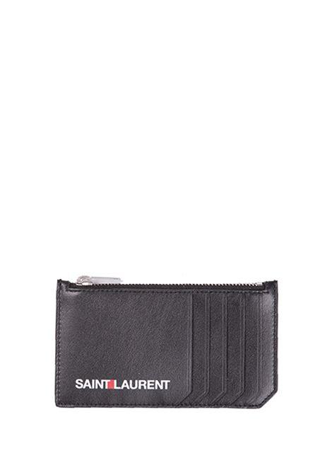 Porta carte Saint Laurent Saint Laurent | 633217857 | 458589D5J2E1070