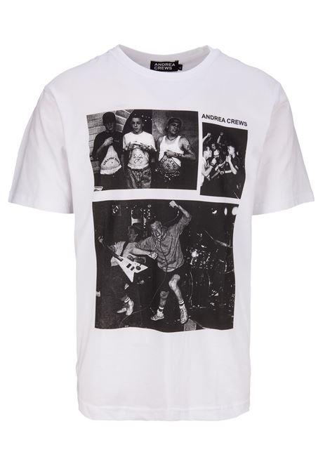 T-shirt Andrea Crews Andrea Crews | 8 | MINORWHITE
