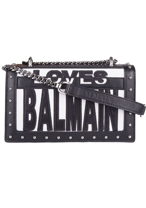 Balmain Paris shoulder bag BALMAIN PARIS | 77132929 | S8FS122PGLB181