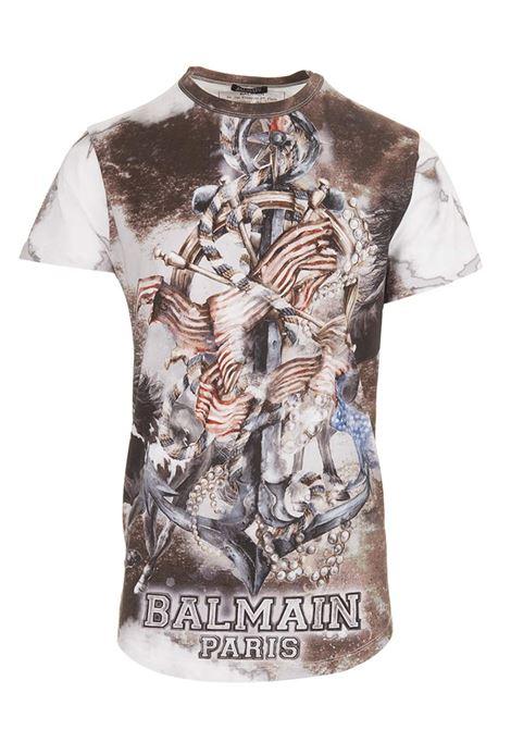 T-shirt Balmain Paris BALMAIN PARIS | 8 | S8H8060I169100