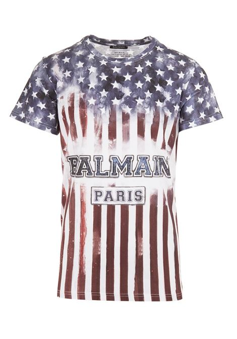 T-shirt Balmain Paris BALMAIN PARIS | 8 | S8H8601I086192