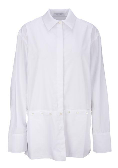 Delada Shirt Delada | -1043906350 | DWS3SH02COWHITE