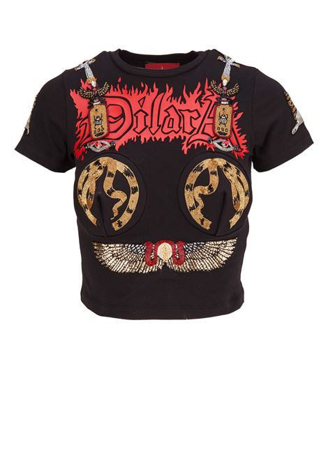 T-shirt Dilara Findikoglu Dilara Findikoglu | 8 | CLEOPATRABLACK