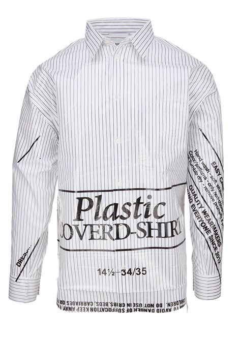 Doublet shirt Doublet | -1043906350 | 18SS11SH49WHITE