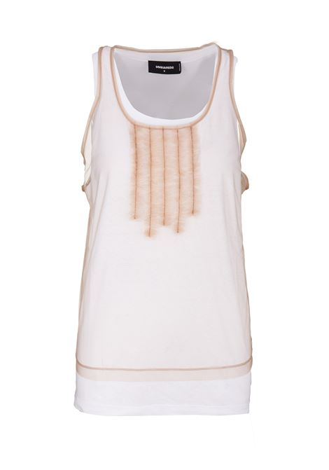 Dsquared2 tank top Dsquared2 | -1740351587 | S72FZ0051STJ235966