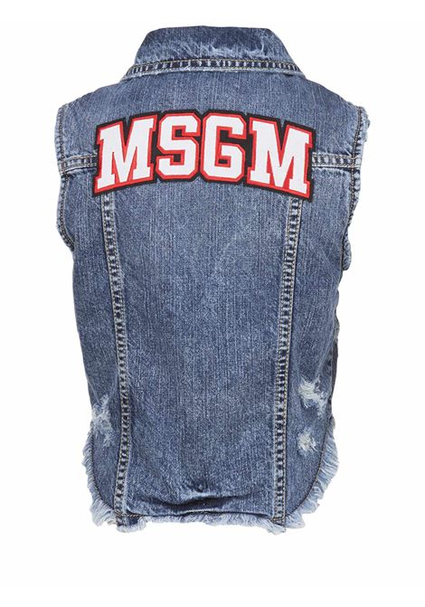 MSGM Junor Gilet MSGM Junior | 38 | 013198126