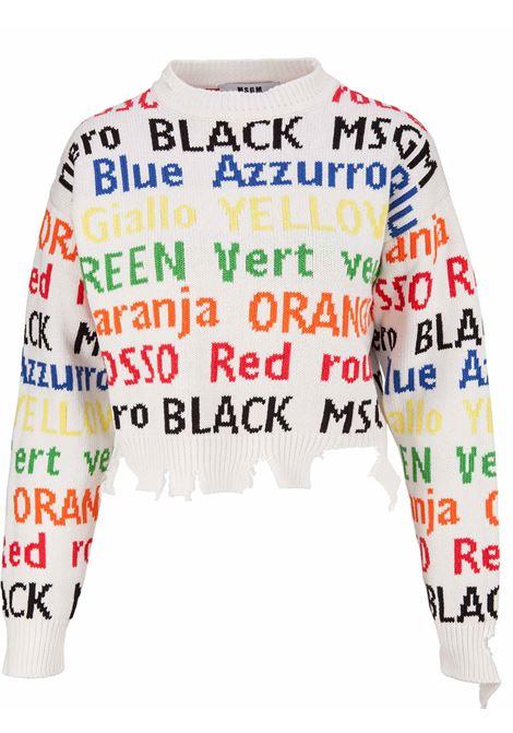 MSGM Sweater MSGM | 7 | 2442MDM22618448502