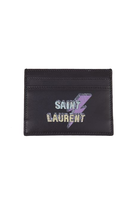 Porta carte Saint Laurent Saint Laurent | 633217857 | 375949BXRE61077
