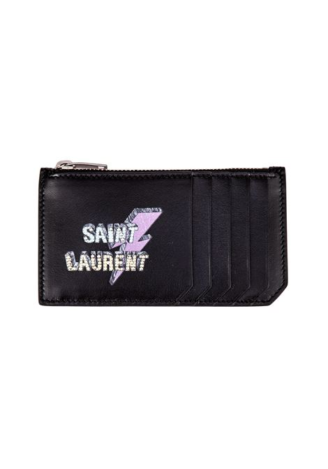 Porta carte Saint Laurent Saint Laurent | 633217857 | 458593BXRE61077