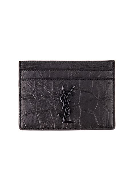 Porta Carte Saint Laurent Saint Laurent | 633217857 | 485631C9H0U1000