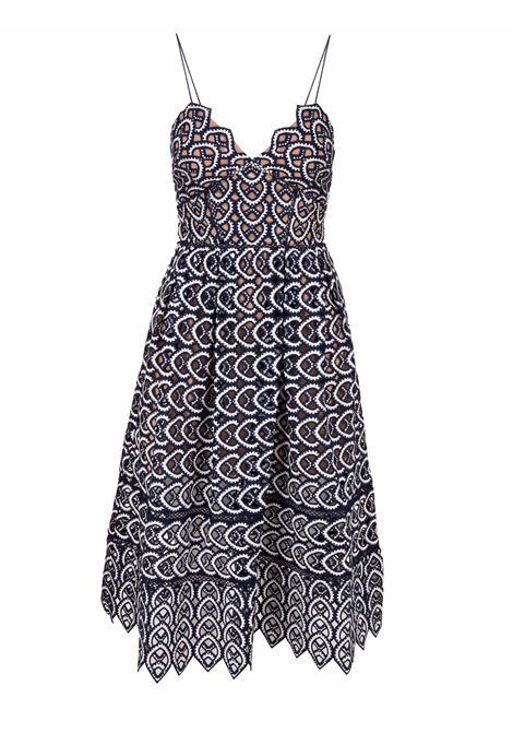 Self Portrait Dress Self Portrait | 11 | SP16009NAVYWHITE