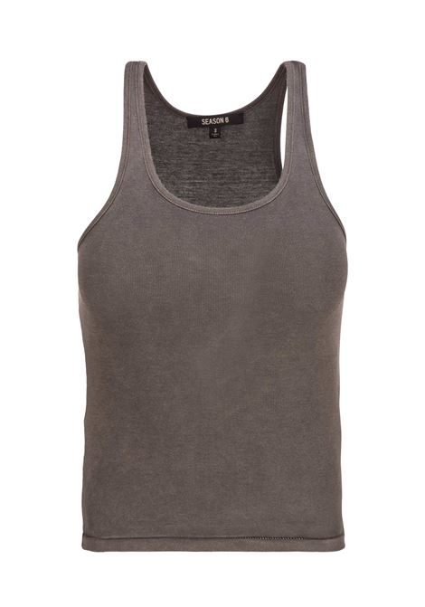 Yeezy Season 6 tank top YEEZY Season 6 | -1740351587 | YZ6W1003GRAVEL