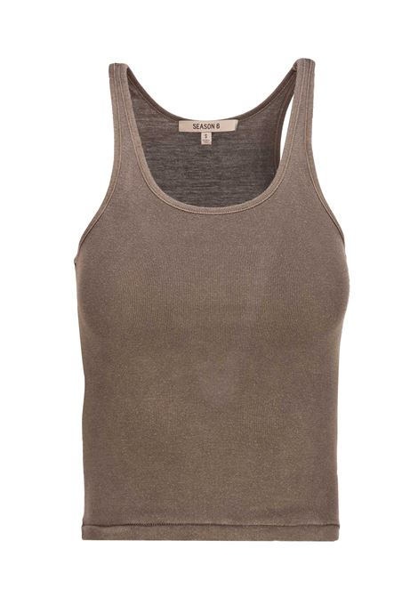Yeezy Season 6 tank top YEEZY Season 6 | -1740351587 | YZ6W1003MILITARY