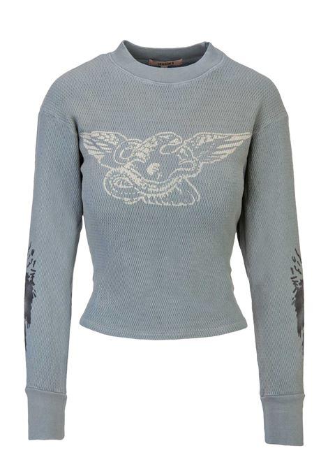 Yeezy Season 6 sweatshirt YEEZY Season 6 | -108764232 | YZ6W1057GLACIERGHOST